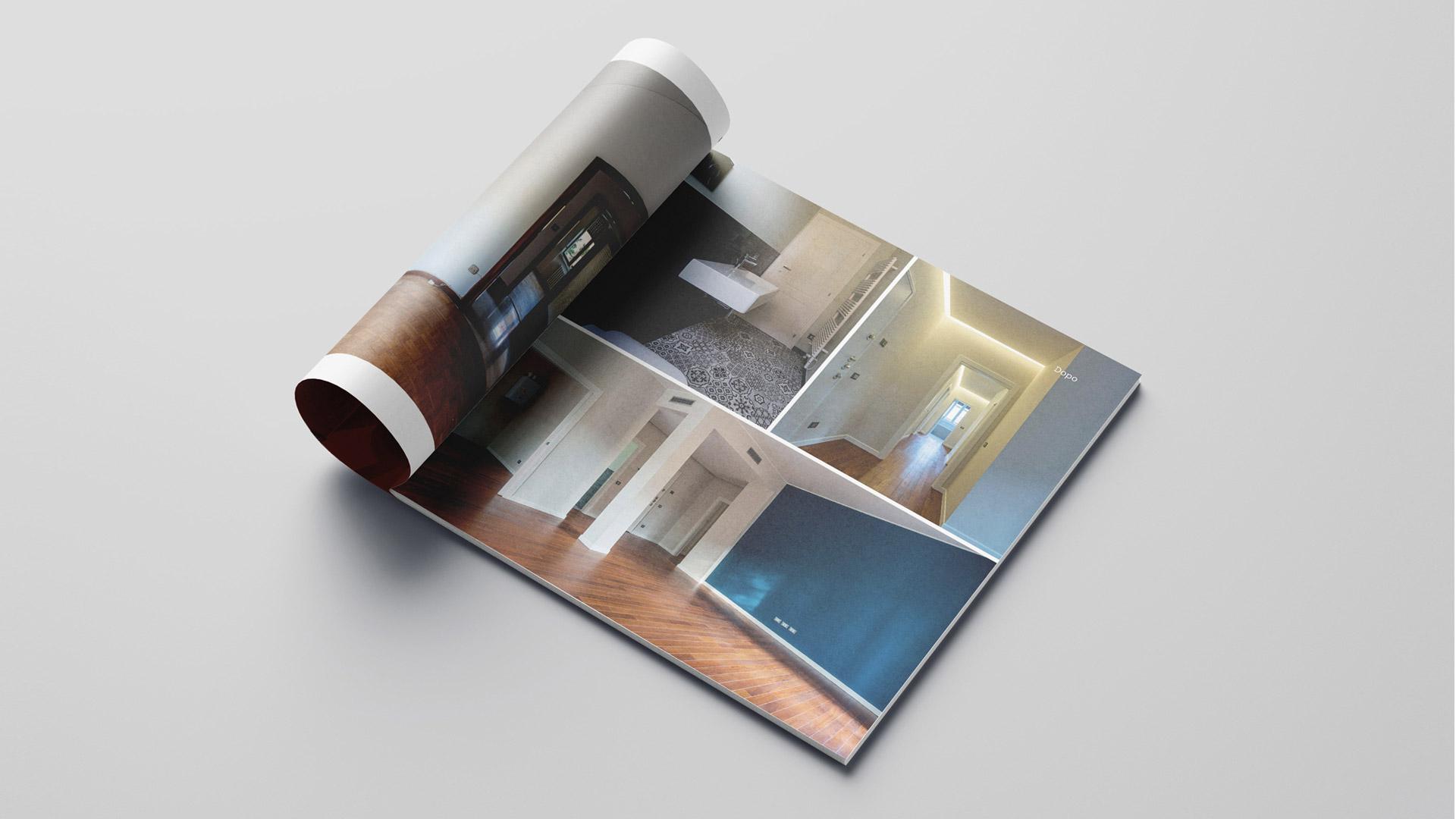 Interno brochure design realizzata da Valenti04 agenzia di comunicazione Brescia