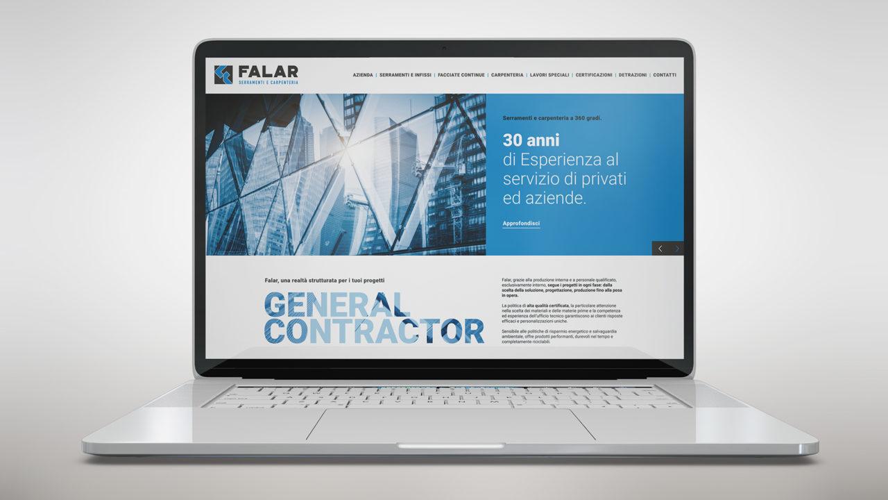 Realizzazione sito internet – Falar