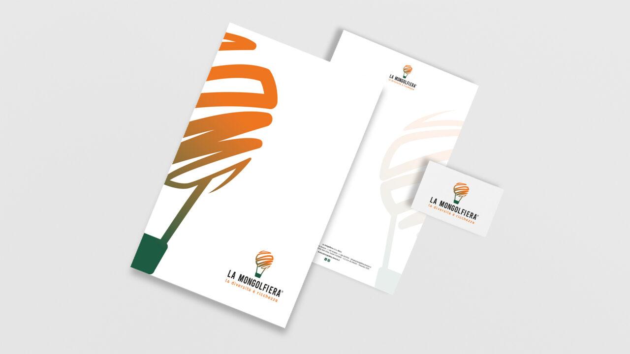 Restyling logo La Mongolfiera